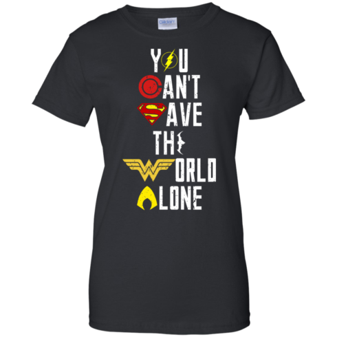 image 32 490x490px Justice League: You Can Save The World A Lone T Shirts, Hoodies, Sweaters