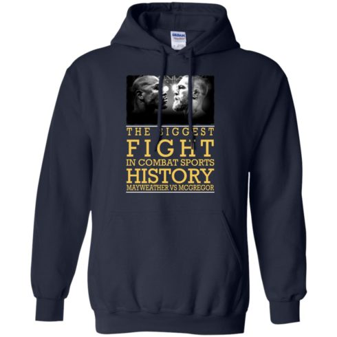 image 320 490x490px Mcgregor vs Mayweather The Biggest Fight In Combat Sports History T Shirts, Hoodies
