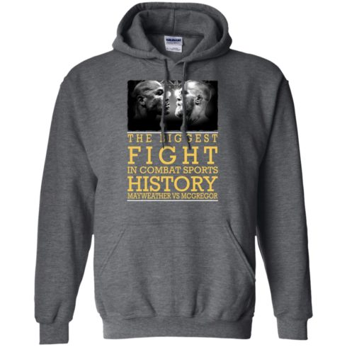 image 321 490x490px Mcgregor vs Mayweather The Biggest Fight In Combat Sports History T Shirts, Hoodies
