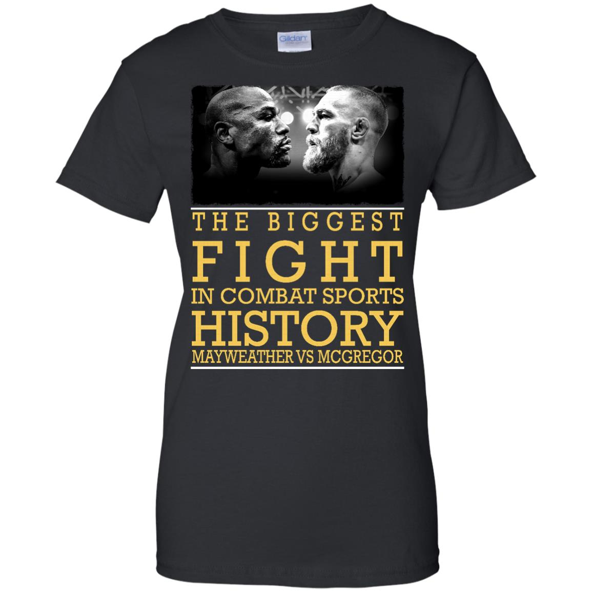image 322px Mcgregor vs Mayweather The Biggest Fight In Combat Sports History T Shirts, Hoodies