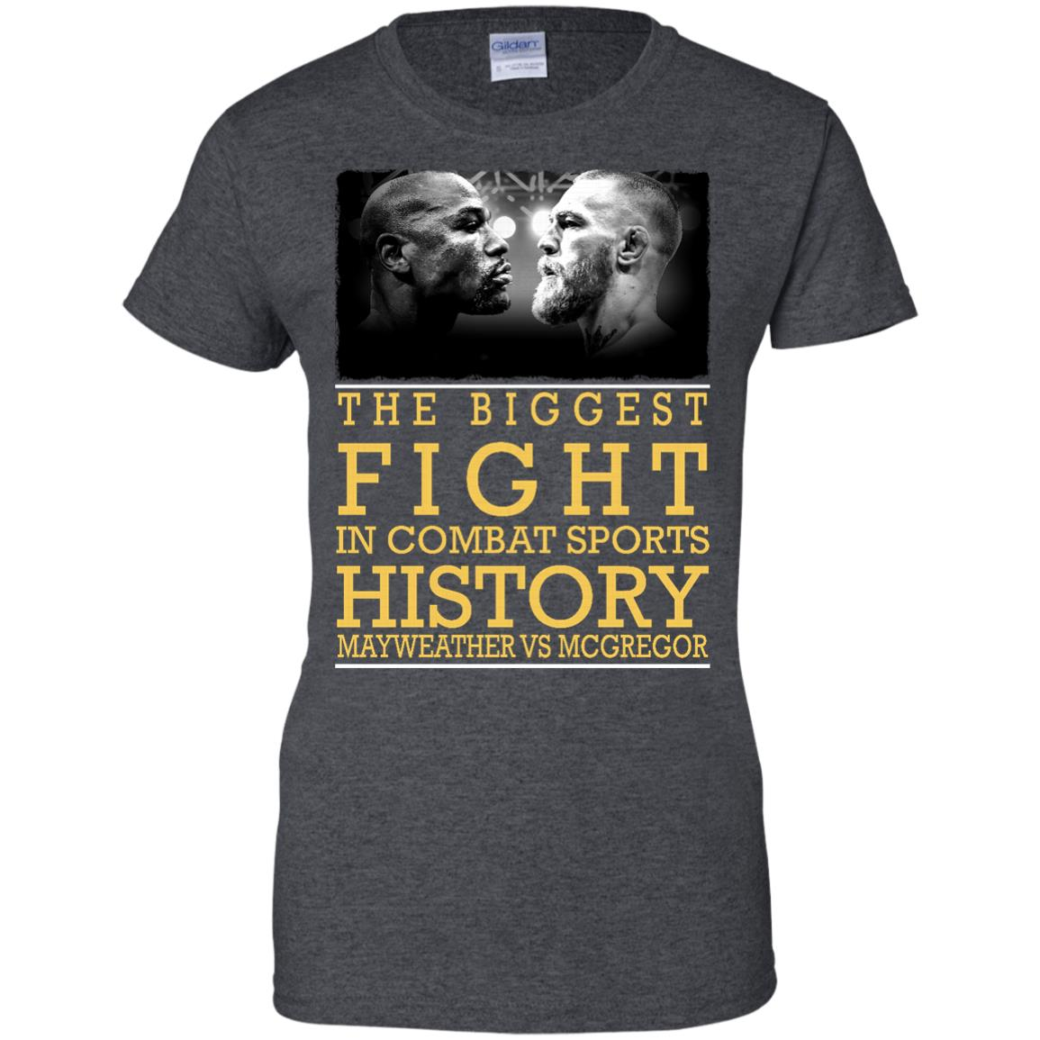 image 323px Mcgregor vs Mayweather The Biggest Fight In Combat Sports History T Shirts, Hoodies