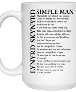 image 330 247x296px Lynyrd Skynyrd Simple Man Coffee Mug