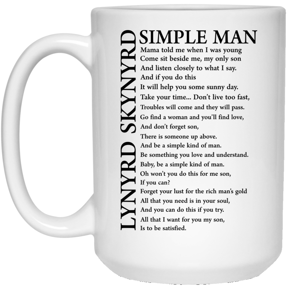 image 330px Lynyrd Skynyrd Simple Man Coffee Mug