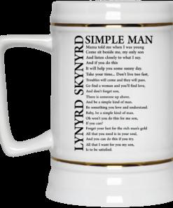 image 331 247x296px Lynyrd Skynyrd Simple Man Coffee Mug