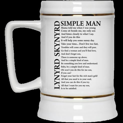 image 331 490x490px Lynyrd Skynyrd Simple Man Coffee Mug