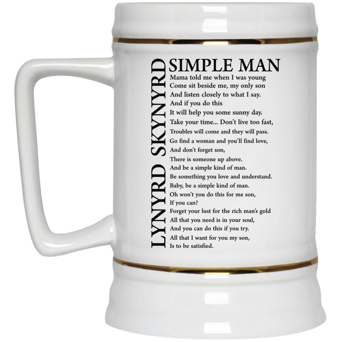 image 331px Lynyrd Skynyrd Simple Man Coffee Mug