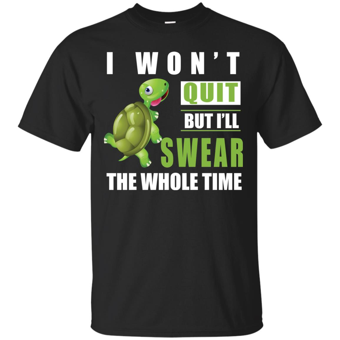 image 336px Running Turtle Shirt: I Won't Quit But I'll Swear The Whole Time T Shirts, Hoodies
