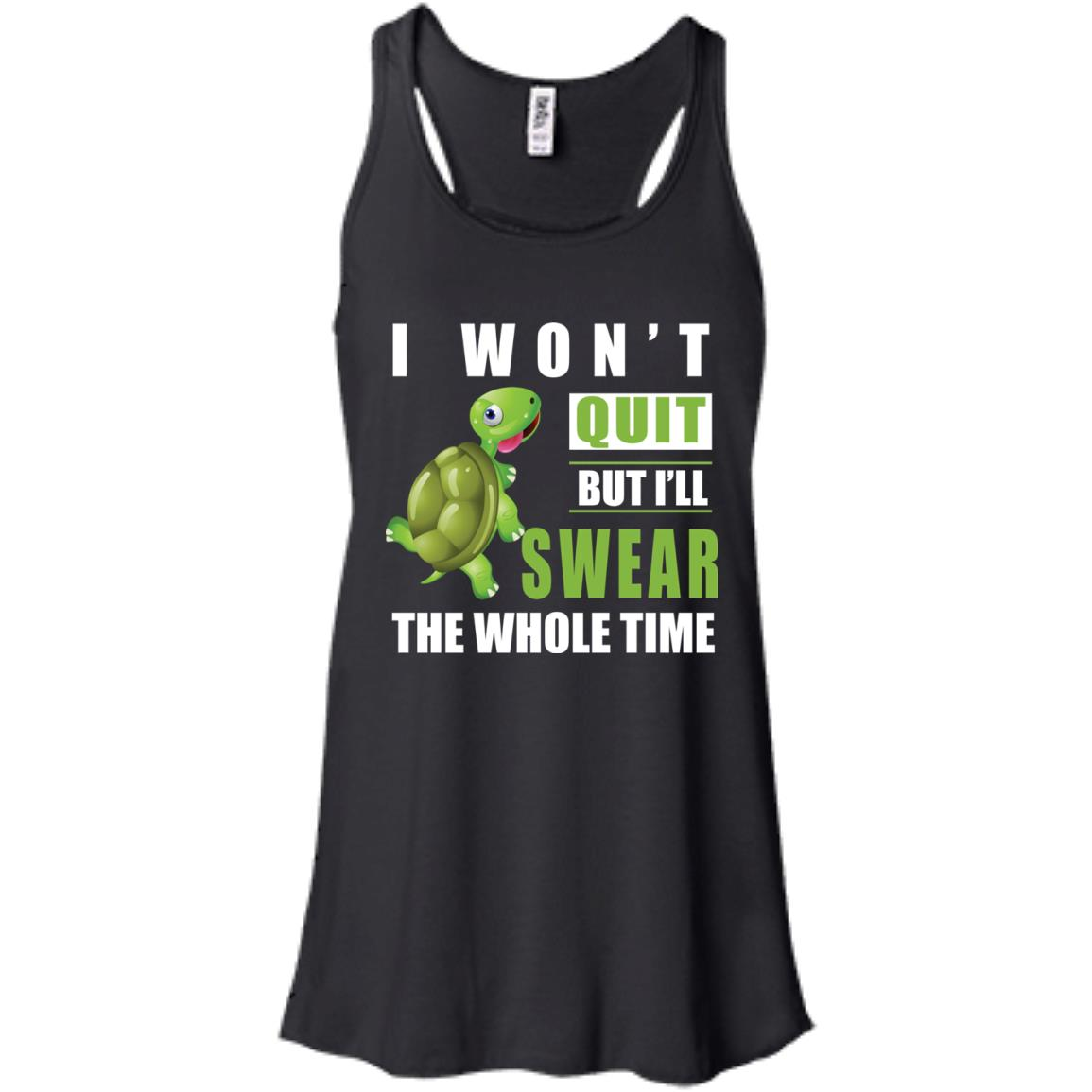 image 339px Running Turtle Shirt: I Won't Quit But I'll Swear The Whole Time T Shirts, Hoodies