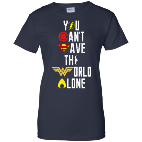 image 34 490x490px Justice League: You Can Save The World A Lone T Shirts, Hoodies, Sweaters