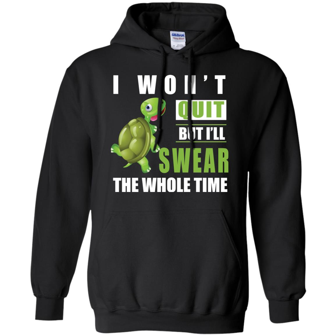 image 341px Running Turtle Shirt: I Won't Quit But I'll Swear The Whole Time T Shirts, Hoodies