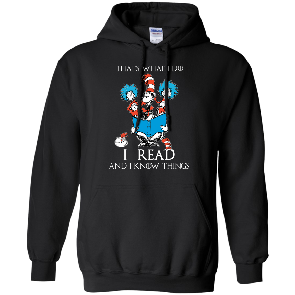 image 351px Dr Seuss: That's What I Do I Read And I Know Things T Shirts, Hoodies, Tank Top