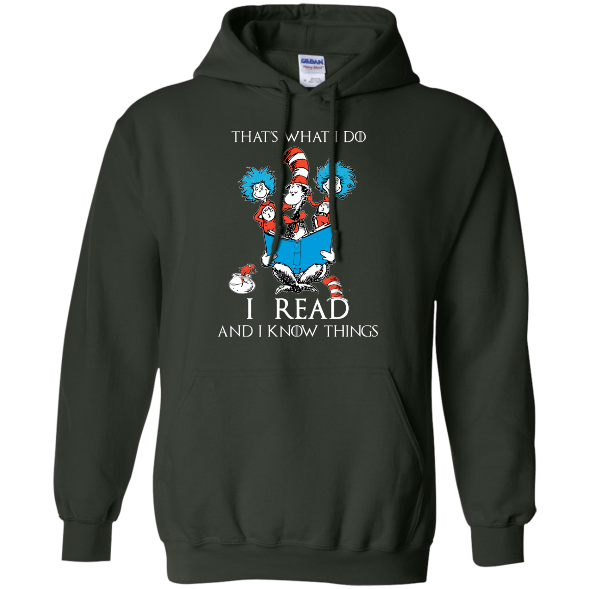 image 353px Dr Seuss: That's What I Do I Read And I Know Things T Shirts, Hoodies, Tank Top