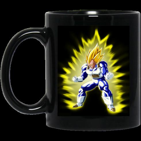 image 368 490x490px Dragon Ball Vegeta Coffee Mug