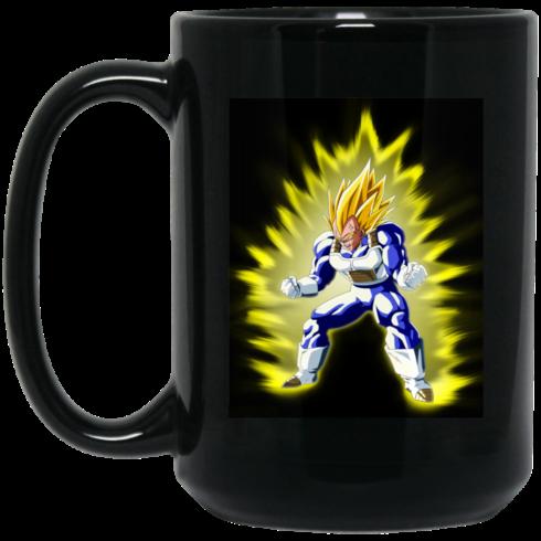 image 369 490x490px Dragon Ball Vegeta Coffee Mug