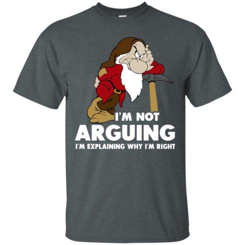 image 370 490x490px I'm Not Arguing I'm Explaining Why I'm Right T Shirts, Hoodies, Tank Top