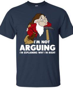 image 371 247x296px I'm Not Arguing I'm Explaining Why I'm Right T Shirts, Hoodies, Tank Top