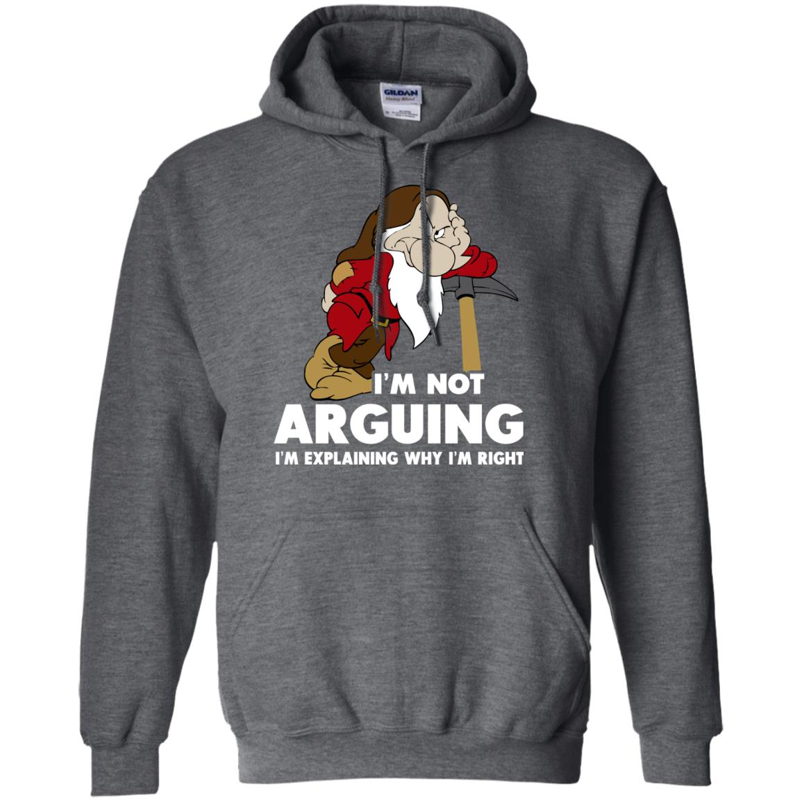 image 376px I'm Not Arguing I'm Explaining Why I'm Right T Shirts, Hoodies, Tank Top