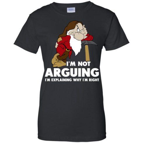 image 377 490x490px I'm Not Arguing I'm Explaining Why I'm Right T Shirts, Hoodies, Tank Top