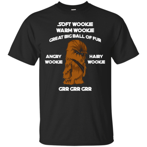 image 38 490x490px Star Wars: Soft Wookie Warm Wookie Great Big Ball Of Fur Angry Wookie Hairy Wookie T Shirts