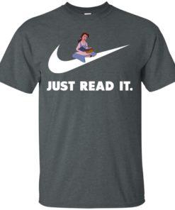image 381 247x296px Just Read It Belle Disney Girl T Shirts, Hoodies, Tank Top