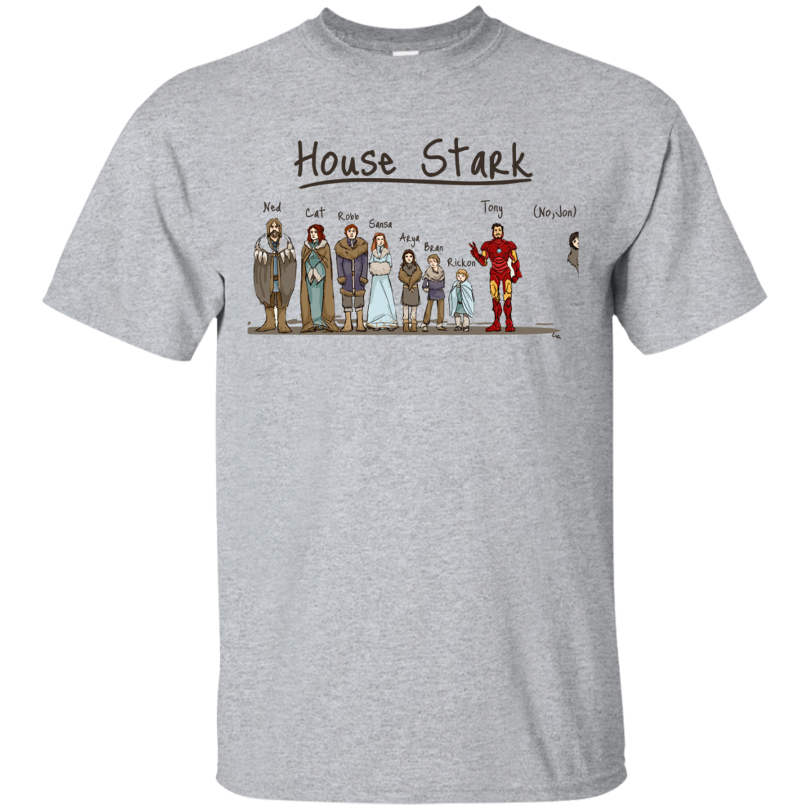 image 386px House Stark and Iron Man T Shirts, Hoodies, Sweater