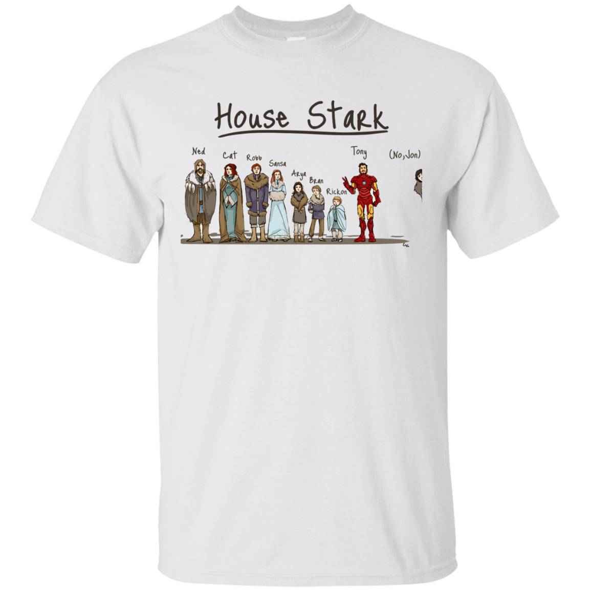 image 387px House Stark and Iron Man T Shirts, Hoodies, Sweater
