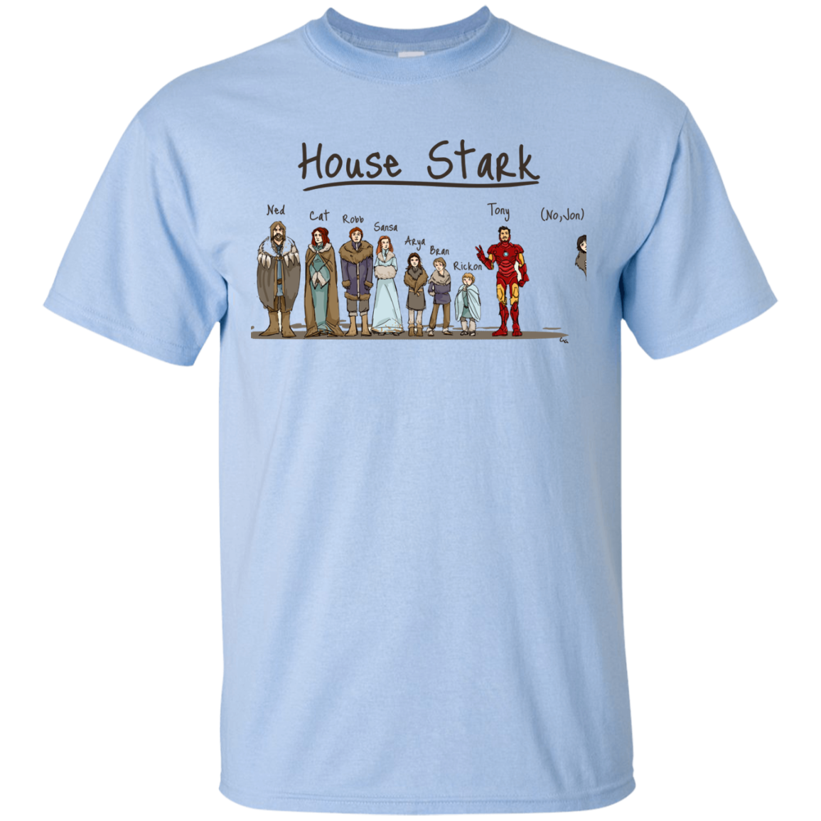 image 388px House Stark and Iron Man T Shirts, Hoodies, Sweater