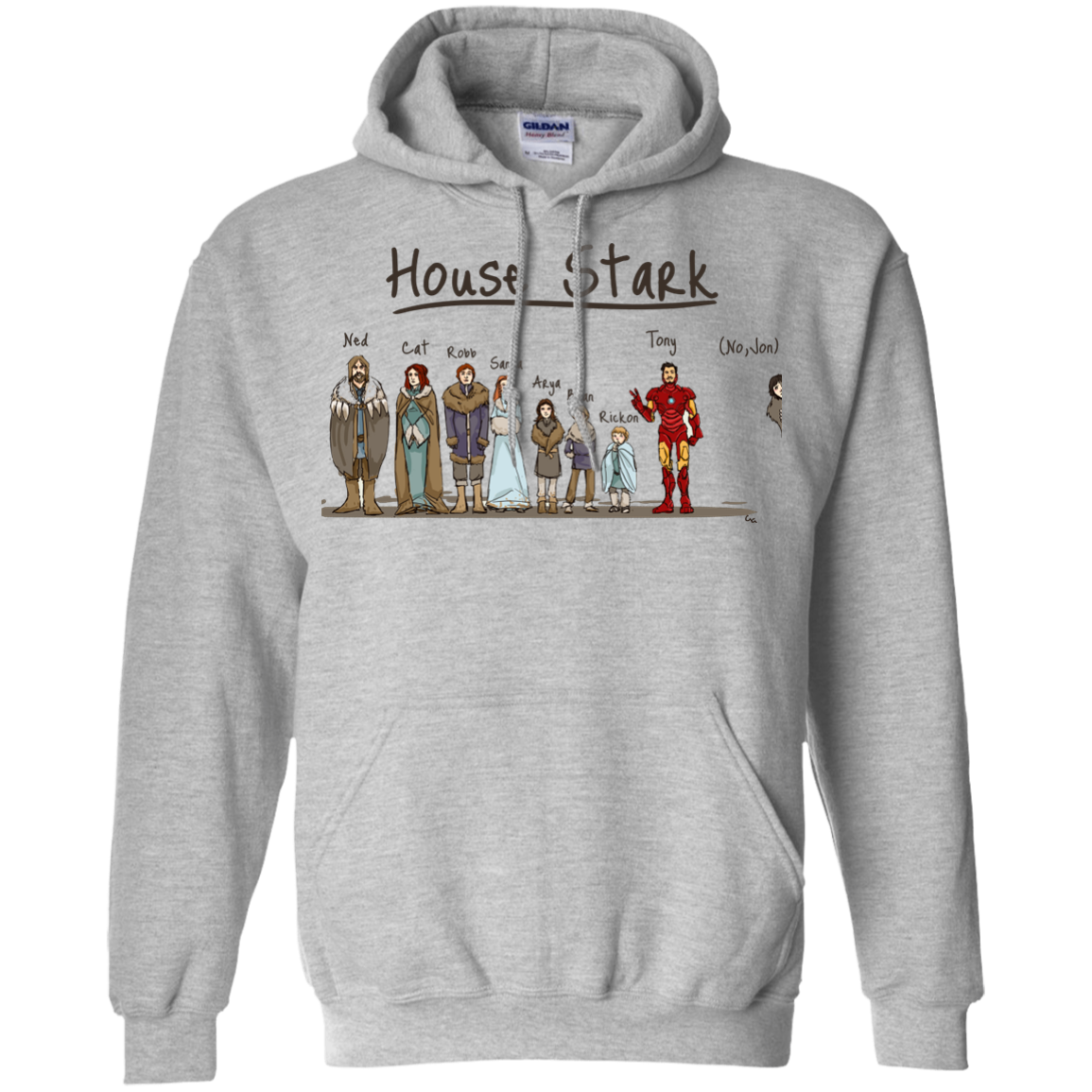 image 389px House Stark and Iron Man T Shirts, Hoodies, Sweater