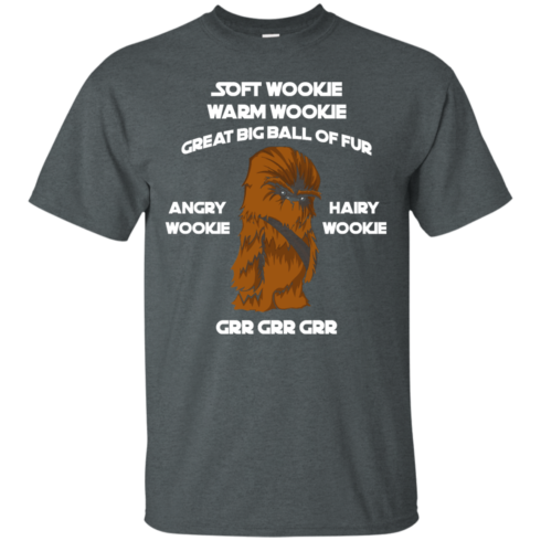 image 39 490x490px Star Wars: Soft Wookie Warm Wookie Great Big Ball Of Fur Angry Wookie Hairy Wookie T Shirts