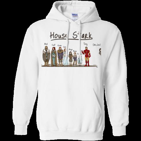 image 390 490x490px House Stark and Iron Man T Shirts, Hoodies, Sweater