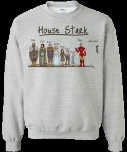 image 392 247x296px House Stark and Iron Man T Shirts, Hoodies, Sweater