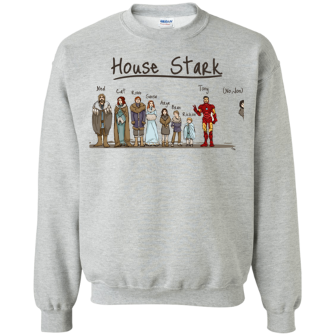 image 392 490x490px House Stark and Iron Man T Shirts, Hoodies, Sweater