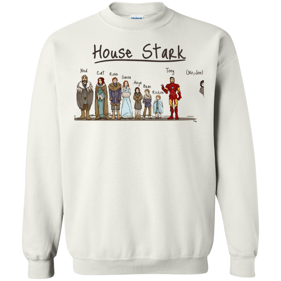 image 393px House Stark and Iron Man T Shirts, Hoodies, Sweater
