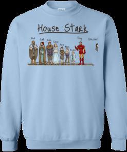 image 394 247x296px House Stark and Iron Man T Shirts, Hoodies, Sweater