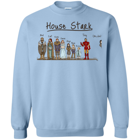 image 394 490x490px House Stark and Iron Man T Shirts, Hoodies, Sweater