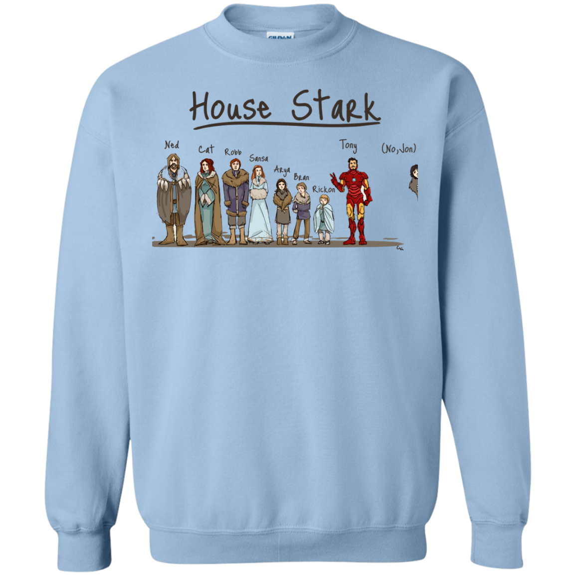 image 394px House Stark and Iron Man T Shirts, Hoodies, Sweater