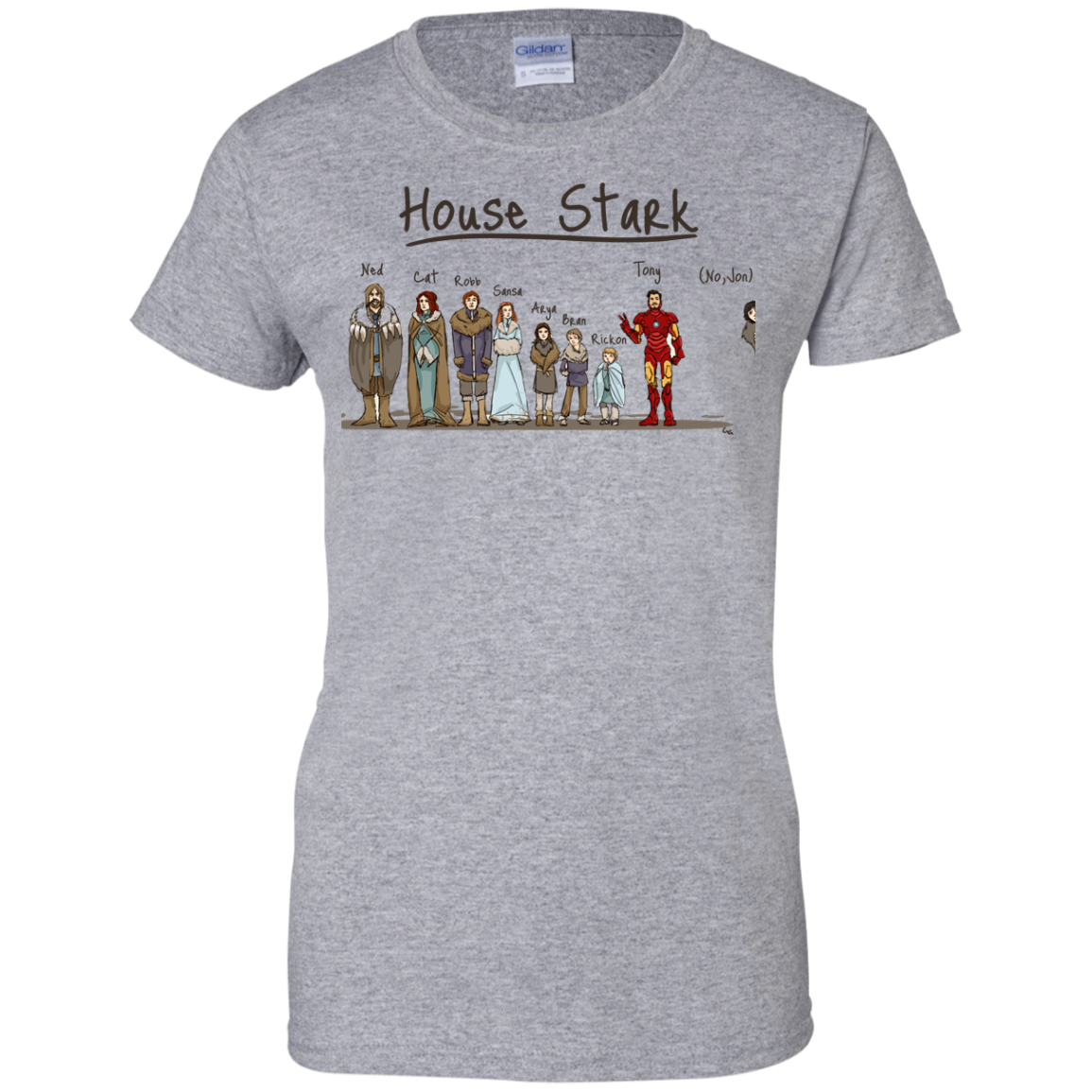 image 395px House Stark and Iron Man T Shirts, Hoodies, Sweater