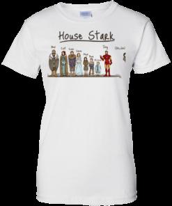 image 396 247x296px House Stark and Iron Man T Shirts, Hoodies, Sweater