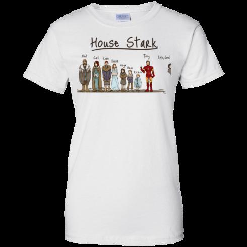image 396 490x490px House Stark and Iron Man T Shirts, Hoodies, Sweater