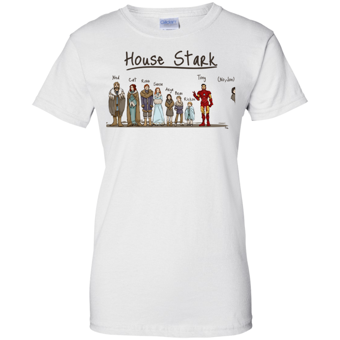 image 396px House Stark and Iron Man T Shirts, Hoodies, Sweater