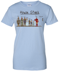 image 397 247x296px House Stark and Iron Man T Shirts, Hoodies, Sweater