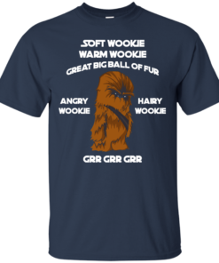 image 40 247x296px Star Wars: Soft Wookie Warm Wookie Great Big Ball Of Fur Angry Wookie Hairy Wookie T Shirts