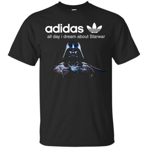 image 402 490x490px Adidas all day I dream about Starwar t shirts, hoodies, tank top