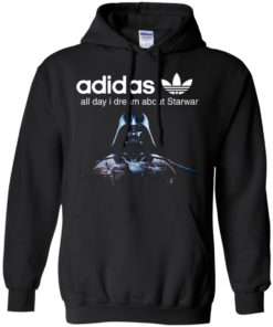 image 407 247x296px Adidas all day I dream about Starwar t shirts, hoodies, tank top