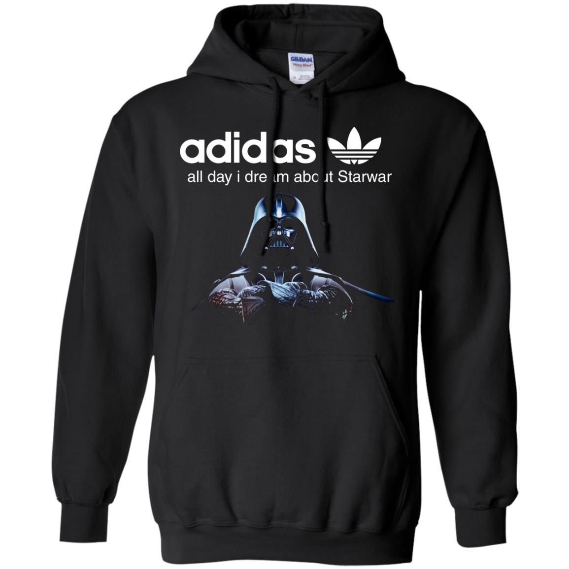 image 407px Adidas all day I dream about Starwar t shirts, hoodies, tank top