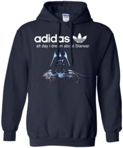 image 408 247x296px Adidas all day I dream about Starwar t shirts, hoodies, tank top