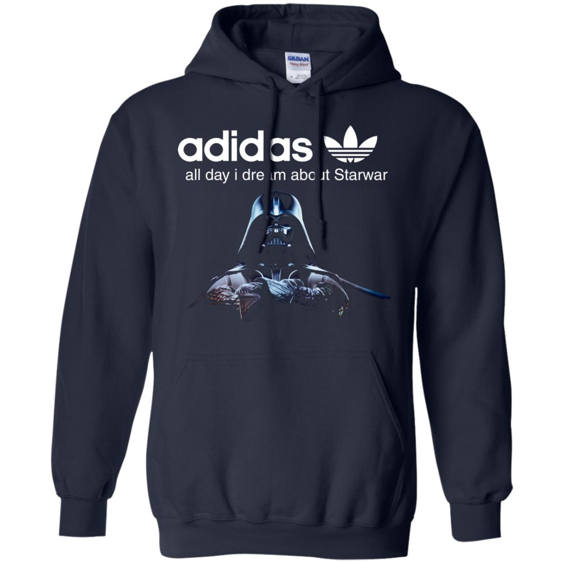 image 408px Adidas all day I dream about Starwar t shirts, hoodies, tank top