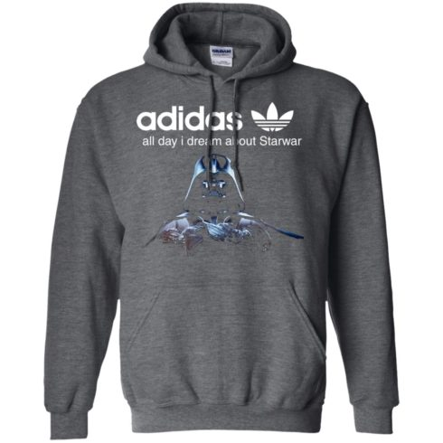 image 409 490x490px Adidas all day I dream about Starwar t shirts, hoodies, tank top