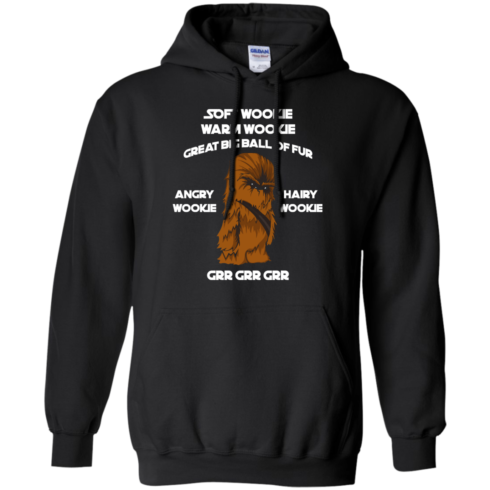 image 41 490x490px Star Wars: Soft Wookie Warm Wookie Great Big Ball Of Fur Angry Wookie Hairy Wookie T Shirts