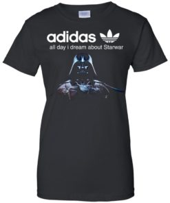 image 410 247x296px Adidas all day I dream about Starwar t shirts, hoodies, tank top